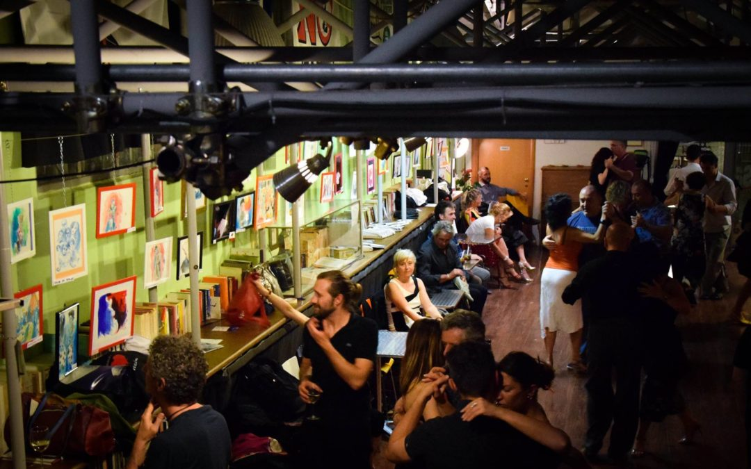A TODO COLOR – Live sketching during Tango's milongas and final exhibition