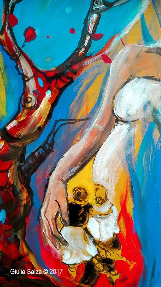 """Live painting in """"Antigone 3.0: donne che hanno lottato contro la mafia o l'hanno scelta: Mothers"""""""